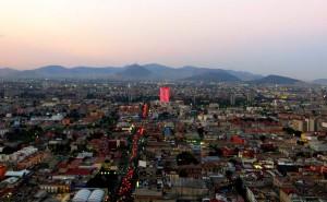 Aussicht vom Latin American Tower