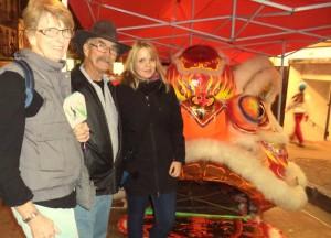 Helen, Gary und ich