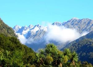 Gletscher in Neuseeland