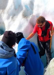 Gletscherwanderung in Neuseeland