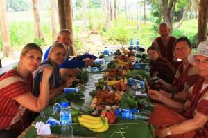 Lunch im Dschungel